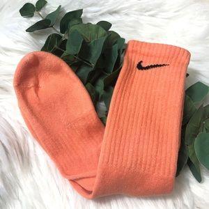 Nike Custom Dyed Crew Socks - Clementine NEW